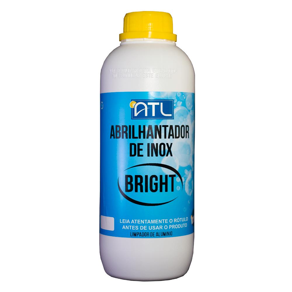 Abrilhantador de Inox - Bright - Frasco 1 Litro - - 1