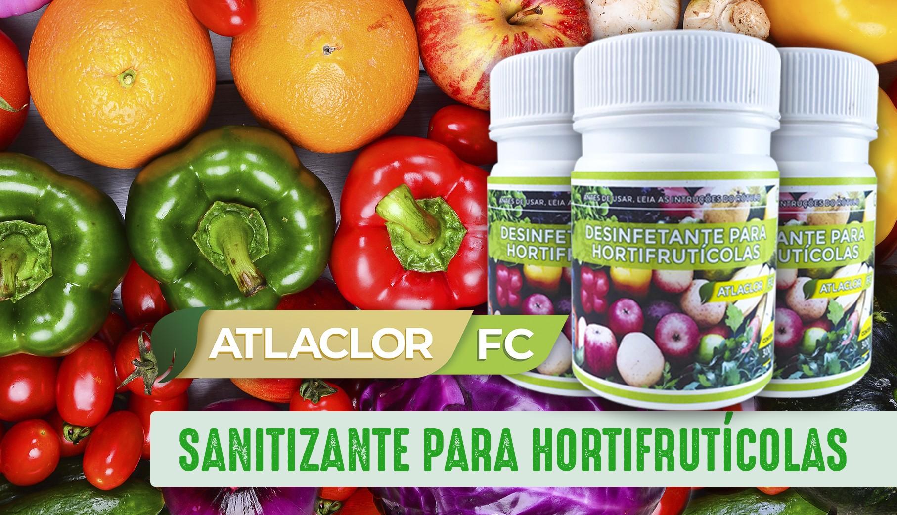 You are currently viewing Sanitizante para Frutas, Legumes e Verduras – Atlaclor FC