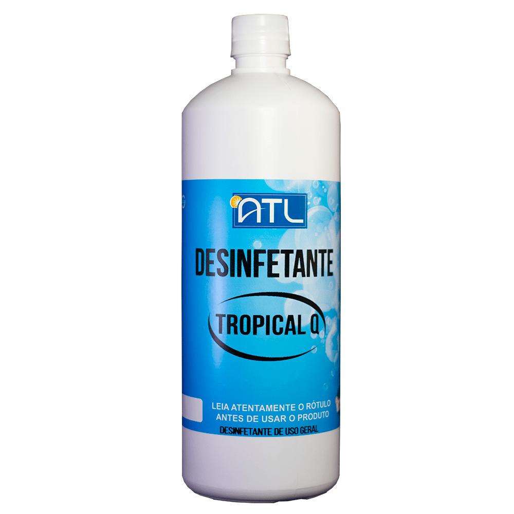 Desinfetante de uso geral - Tropical Q - Frasco 1 Litro - - 1